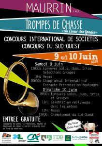 Championnat International  Sociétés- Maurrin (40) @ Maurrin | Nouvelle-Aquitaine | France