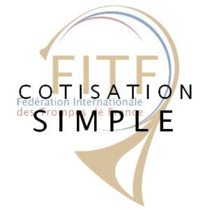 cotisation FITF simple