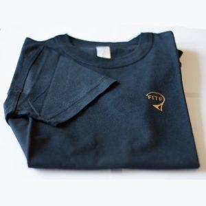 Tshirt FITF boutique bleu
