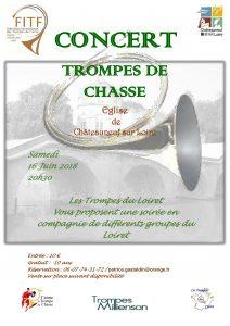 Concert Région Centre - Châteauneuf sur Loire (45) @ Orangerie du château | Châteauneuf-sur-Loire | Centre-Val de Loire | France