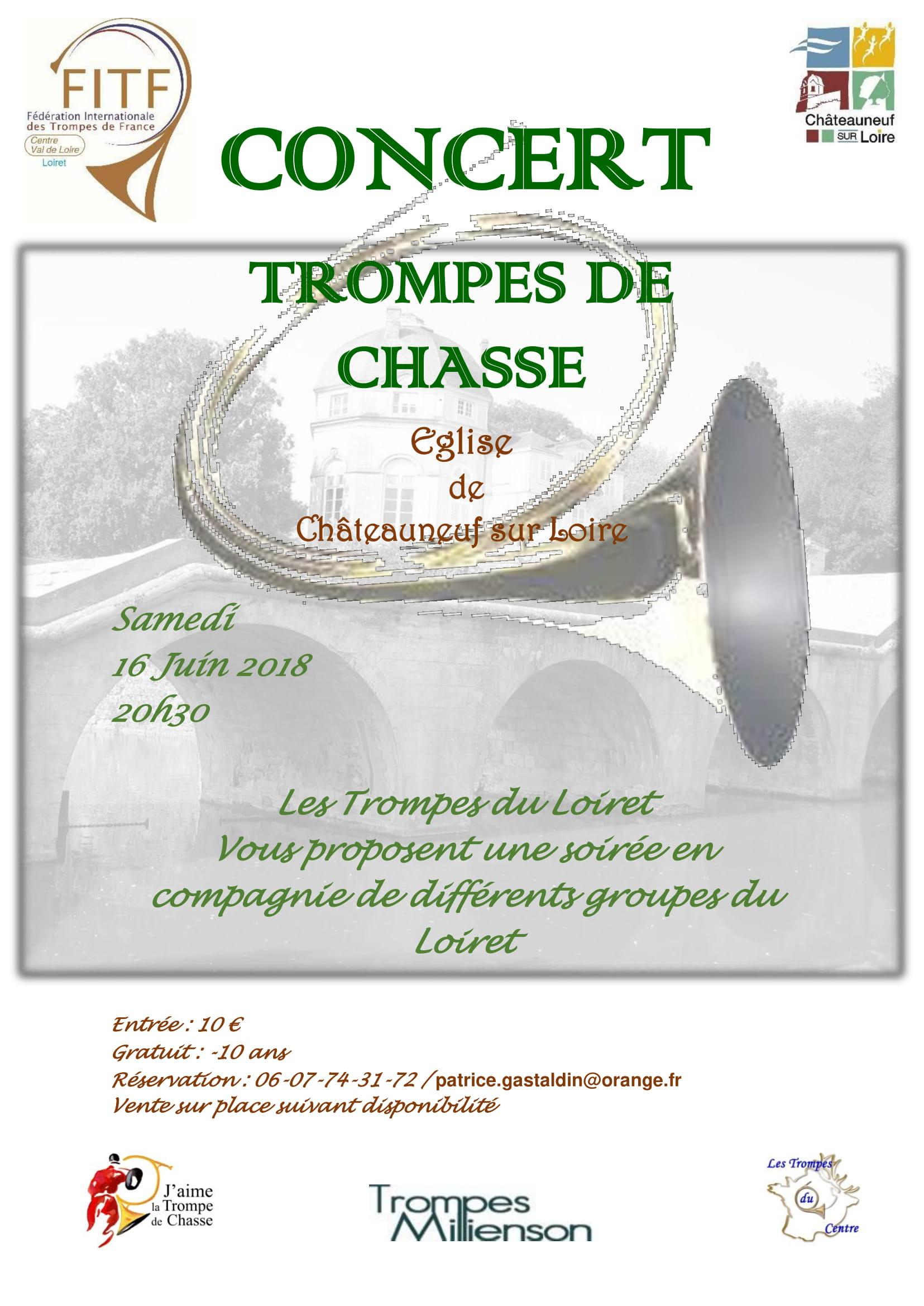 Concert Région Centre - Châteauneuf sur Loire (45) @ Orangerie du château   Châteauneuf-sur-Loire   Centre-Val de Loire   France