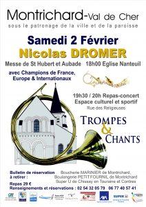St Hubert par les amis de Nicolas, Région Centre - Montrichard (41) @ Eglise de Nanteuil | Montrichard | Centre-Val de Loire | France
