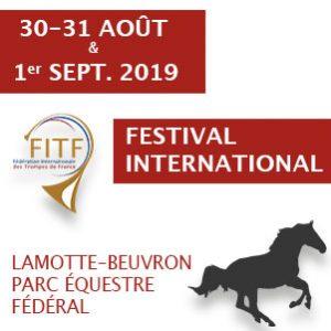 Festival international de trompes, région Centre-Val de Loire - Lamotte Beuvron (41) @ Parc équestre fédéral | Centre-Val de Loire | France