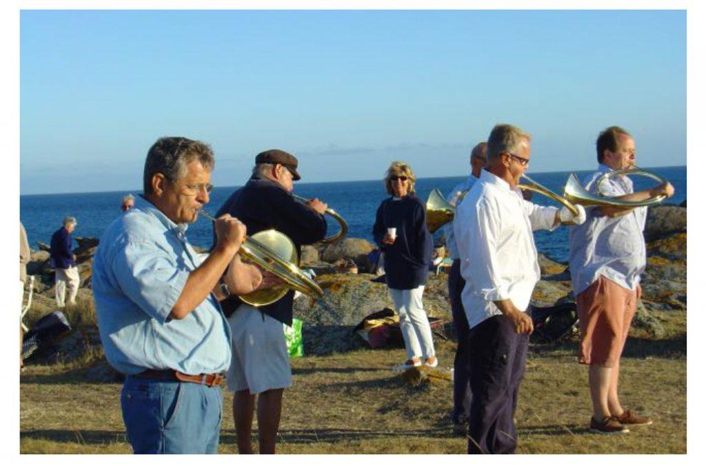 De la trompe sur l'île d'Yeu en Vendée