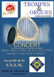 Concert région Pays-de-la-Loire, Ile d'Yeu (85) @ Eglise Notre Dame du Port | L'Île-d'Yeu | Pays de la Loire | France