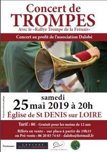 Concert région Centre-Val de Loire, Saint Denis sur Loire (41) @ Eglise  | Saint-Denis-sur-Loire | Centre-Val de Loire | France
