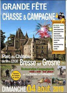 Fête chasse et campagne - Concours amical, Bresse sur Grosne (71) @ Parc du château | Bresse-sur-Grosne | Bourgogne-Franche-Comté | France