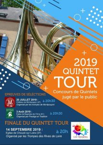Quintet Tour 2019 - Sélections (37) @ Chateau de Montpoupon | Céré-la-Ronde | Centre-Val de Loire | France