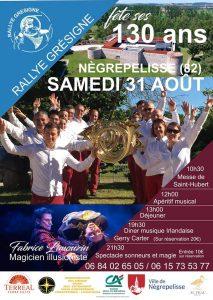 Journée anniversaire 130 ans du Rallye Grésigne, Nègrepelisse (82) @ Nègrepelisse   Occitanie   France
