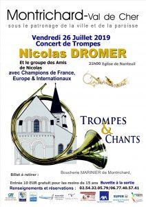 Concert région Centre-Val de Loire, Montrichard (41) @ Montrichard   Centre-Val de Loire   France