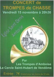 Concert région Centre-Val-de-Loire, Amboise (37) @ Eglise Saint-Denis   Amboise   Centre-Val de Loire   France