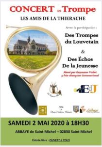 Concert région Hauts-de-France, Saint-Michel (02) @ Abbaye de Saint Michel | Saint-Michel | Hauts-de-France | France