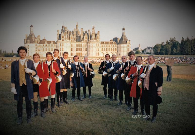 20eme festival international de sociétés à Chambord – 17&18 juin 1989
