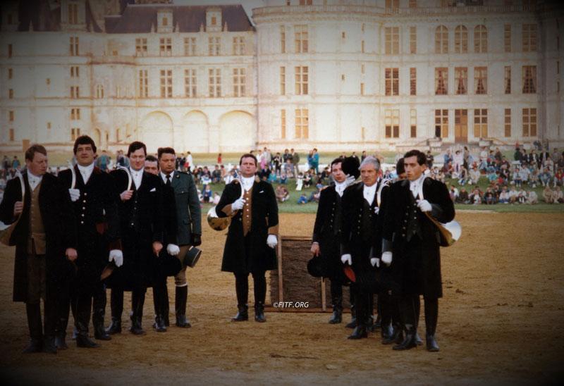 18eme concours de société à Chambord – 20 & 21 juin 1987