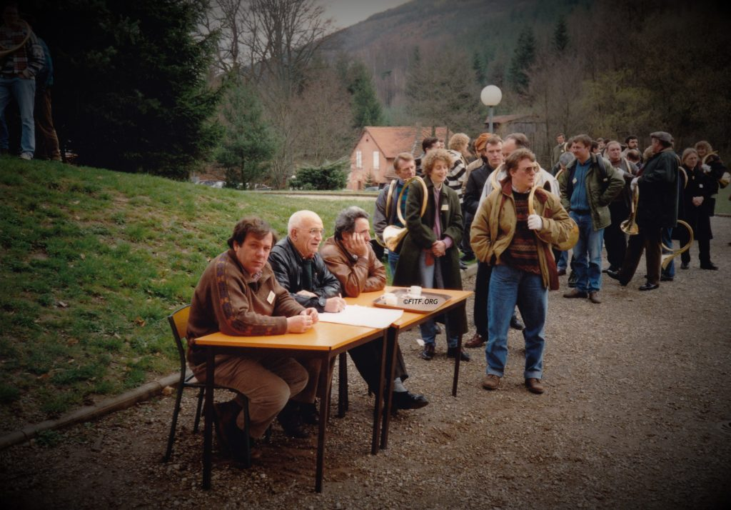 Stage international de Mollkirch – 3,4 & 5 avril 1992