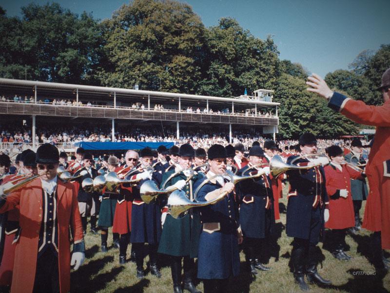 45eme festival international et 23eme concours de sociétés à Pompadour – 5&6 septembre 1992