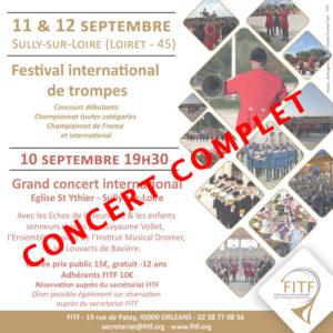 Concert d'ouverture festival international région Centre-Val de Loire, Sully sur Loire (45) @ Château de Sully-sur-Loire   Sully-sur-Loire   Centre-Val de Loire   France