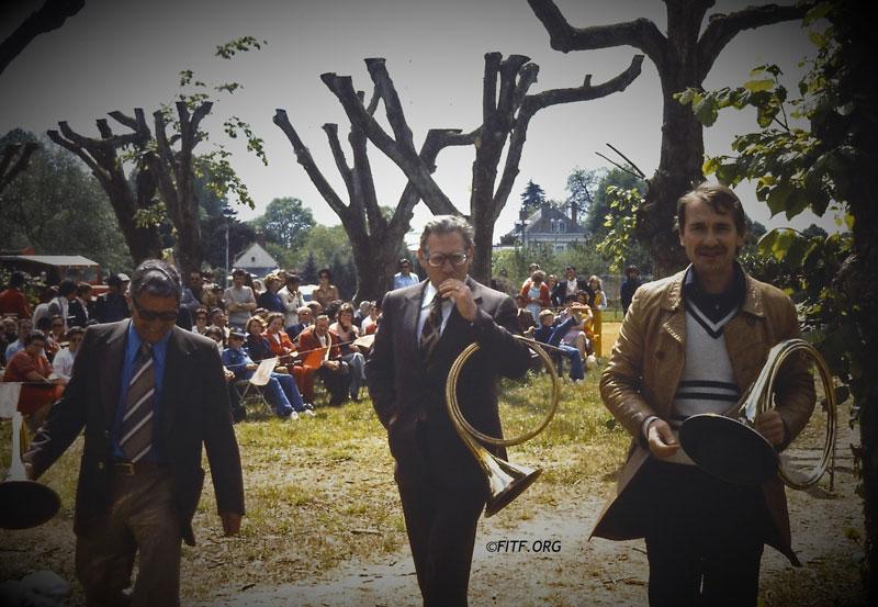 6eme concours de sociétés à Pontlevoy – 15 & 16 mai 1976