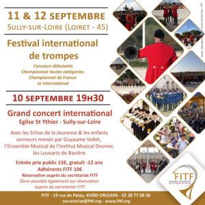 Festival international région Centre-Val de Loire, Sully-sur-Loire (45) @ Château de Sully-sur-Loire | Sully-sur-Loire | Centre-Val de Loire | France